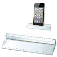 Glass Ruler Paperweight & Phone Hol</br>KK236